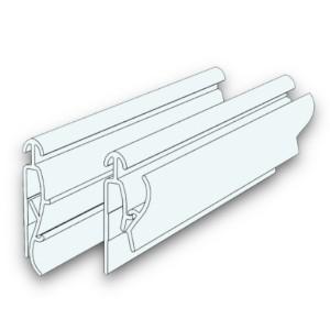 PORTA-BANNER IN PLASTICA CON APERTURA A SCATTO 120 CM