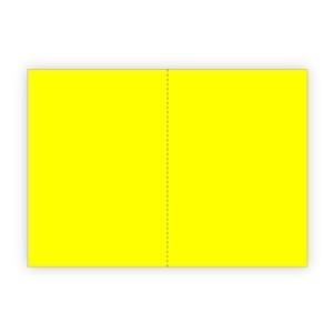 FOGLI PLASTICA GIALLO - FORMATO A5 (210X149MM) 150µ